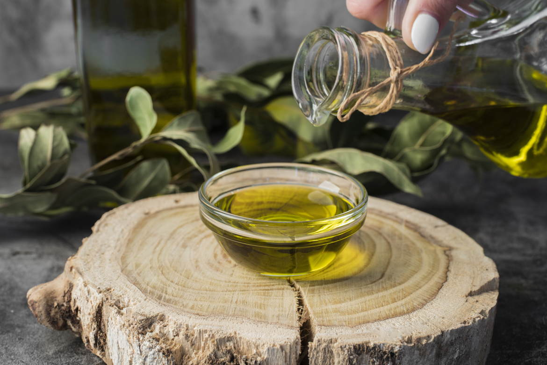 ciotola olio oliva